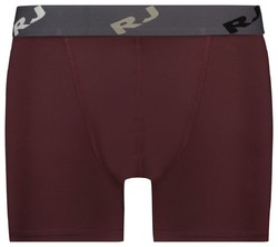 RJ Bodywear Pure Color Boxershort Underwear Port Red