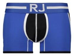 RJ Bodywear Pure Color Colorblock Underwear Mid Blue