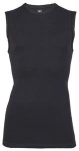 RJ Bodywear Stretch Cotton Tank Top Underwear Black