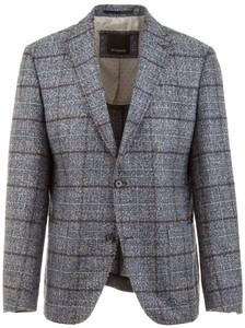 Roy Robson Faux Check Jacket Light Blue
