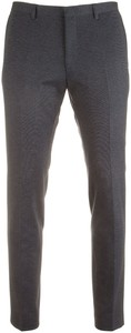 Roy Robson Fine Faux Check Pants Mid Blue
