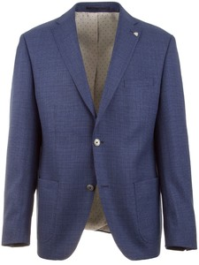 Roy Robson Fine Structure Jacket Blue