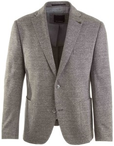 Roy Robson Fine-Structure Piqué Jacket Grey