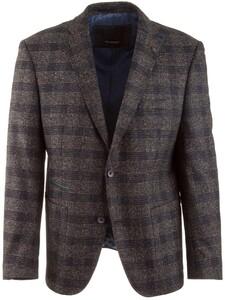 Roy Robson Shape Fit Blue-Grey Check Jacket Blue-Grey
