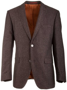 Roy Robson Shape Fit Donegal Faux-Uni Jacket Brown