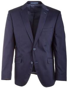 Roy Robson Shape Fit Gloss Cotton Jacket Colbert Blauw