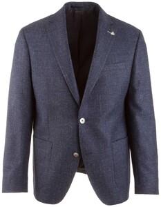Roy Robson Shape Fit Mid-Blue Faux-Uni Jacket Mid Blue