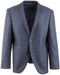 Roy Robson Shape Fit Outside Jacket Faux-Uni Twill Colbert Royal Blue