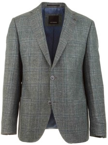 Roy Robson Subtle Forest Check Jacket Grey