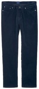 Gant Slim Rib Jeans Navy