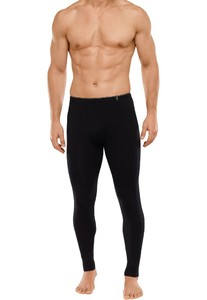Schiesser 95-5 Long Johns Underwear Black