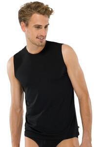 Schiesser 95-5 Tank Top Underwear Black