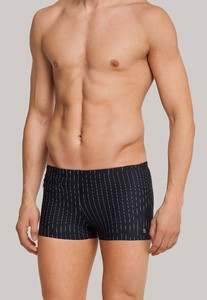 Schiesser Aqua Swim Shorts Swimwear Black