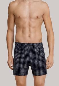 Schiesser Boxershort Dark Sapphire Underwear Dark Evening Blue