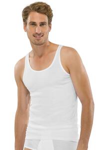 Schiesser Feinripp Singlet 2Pack Ondermode Wit