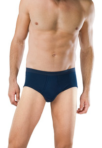 Schiesser Feinripp Sports Brief Underwear Navy
