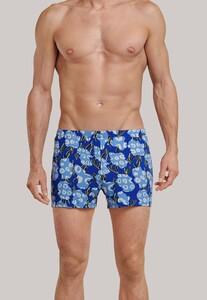 Schiesser Lights on Blue Boxershort Underwear Blue