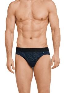 Schiesser Long Life Cotton Rio-Slip Underwear Royal Blue