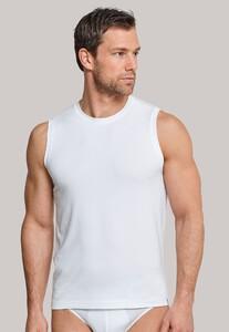 Schiesser Long Life Soft Tank Top Underwear White