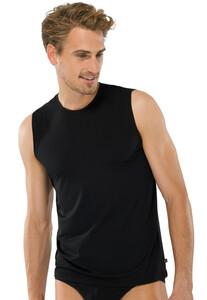 Schiesser Micro Tank Top Underwear Black
