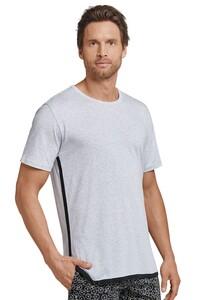 Schiesser Mix & Relax 1875 Jersey R-Neck T-Shirt Grey