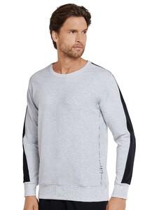 Schiesser Mix & Relax 1875 R-Neck T-Shirt Grijs