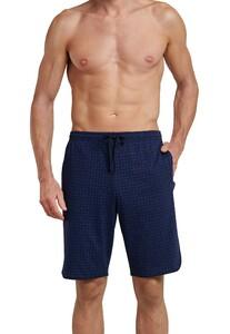 Schiesser Mix & Relax Bermudashort Underwear Dark Navy Melange