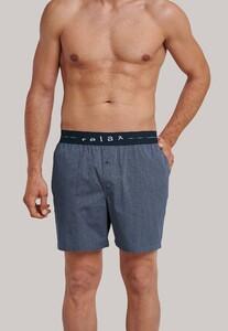 Schiesser Mix & Relax Long Boxer Underwear Indigo
