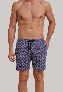 Schiesser Mix & Relax Shorts Nightwear Indigo