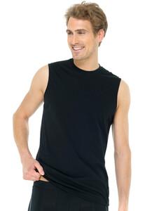 Schiesser Muscle Shirt 2Pack T-Shirt Black