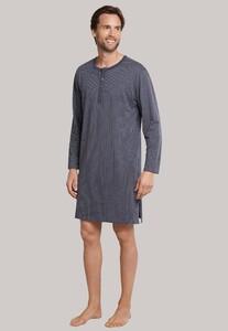 Schiesser Nachthemd Ebony Nightwear Anthracite Grey
