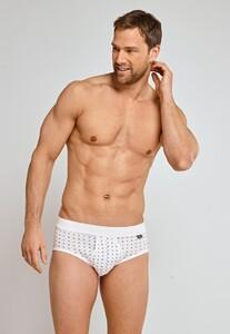 Schiesser Original Classics Feinripp Sports Brief Underwear White