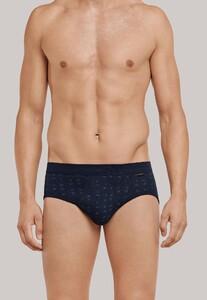 Schiesser Original Classics Sports Brief Underwear Dark Evening Blue