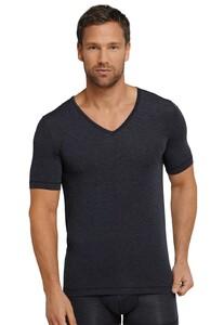 Schiesser Personal Fit Shirt V-Neck Underwear Midnight Navy