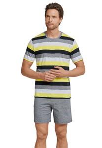 Schiesser Premium Inspiration Pyjama Nachtmode Multicolor