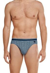 Schiesser Premium Inspiration Rio-Slip Underwear Light Blue