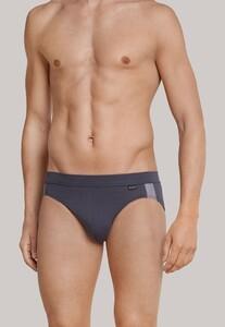 Schiesser Rio-Slip Ebony Underwear Anthracite Grey