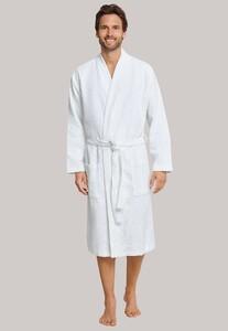 Schiesser Selected! Premium Uni Badjas Nachtmode Wit