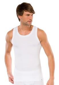 Schiesser Singlet Long Life Cotton Underwear White
