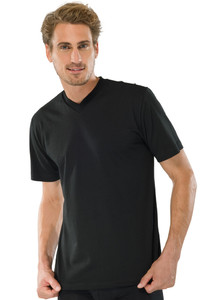 Schiesser T-Shirt 2Pack T-Shirt Zwart