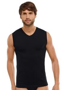 Schiesser Tank-Top Long Life Cotton Underwear Black