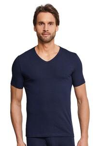 Schiesser Urban Original Shirt V-Neck Ondermode Donker Blauw