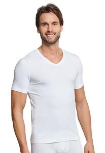 Schiesser Urban Original Shirt V-Neck Ondermode Wit