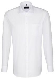 Seidensticker Business Kent Comfort Overhemd Wit