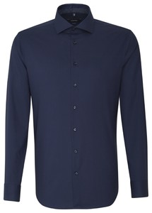 Seidensticker Business Spread Kent Uni Shirt Navy
