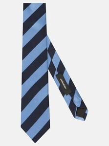 Seidensticker Diagonal Stripe Das Intens Blauw