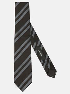 Seidensticker Diagonal Stripe Das Zwart