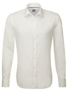 Seidensticker Dubbele Manchet Business Kent Overhemd Off White
