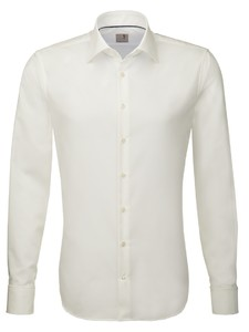 Seidensticker Dubbele Manchet Business Kent Shirt Off White