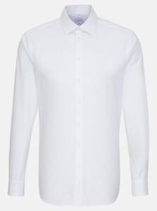 Seidensticker Easy Iron Uni Light Business Kent Overhemd Wit
